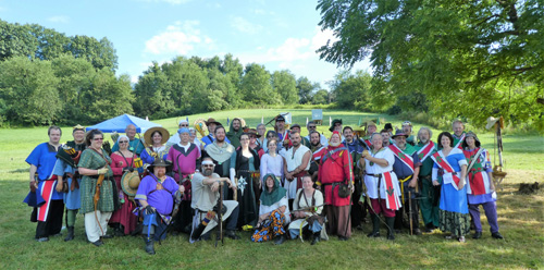 picture of Middle-East-Ealdormere champs, Pennsic 46
