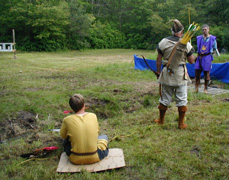 picture of the start of the Championship round, 2009: Jacob vs Radagast